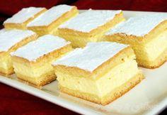 Túrós pite Napfény és Fűszer-től Hungarian Cake, Hungarian Recipes, Hungarian Food, My Recipes, Dessert Recipes, Favorite Recipes, Baking And Pastry, Something Sweet, Quick Meals