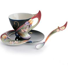 ~ Tea cup & spoon ...