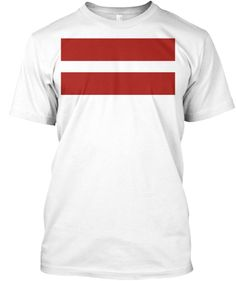 Flag of Latvia - t-shirt
