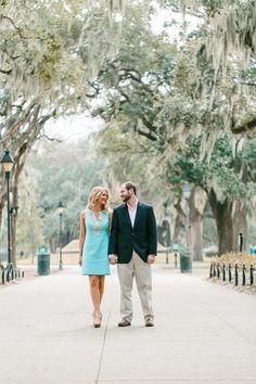Spring engagement session at Forsyth Park in Savannah, Georgia. http://www.savannahsoiree.com/journal/spring-engagement-at-forsyth-park
