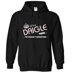 [Tees4u] Its a Daigle thing - #plain tee #sweater for men. OBTAIN LOWEST PRICE => https://www.sunfrog.com/Names/[Tees4u]-Its-a-Daigle-thing-Black-7c6i-Hoodie.html?68278