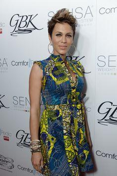 ghanaian dress designs | ... : Nicole Ari Parker Wears Kiki Ankara Shirt Dress at Pre-Oscar Event