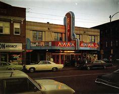 Bay Theater, Ashland, Wisconsin  Photo by Stephen Shore