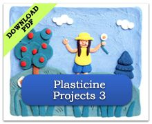 Plasticine Projects 3 Summer Art Projects, Clay Projects, Holiday Activities, Art Activities, Teaching Art, Teaching Ideas, Making A Model, Clay Studio, Plasticine