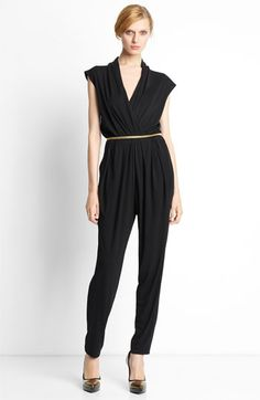 I think jumpsuits are classic! #fashion #style #black #classic