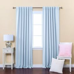 Baby Blue Window Blinds