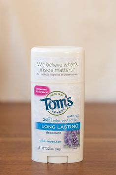 Time For A Vegan Deodorant? A Tom's of Maine Review — Produce On Parade