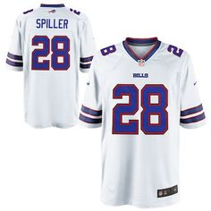 97b1714e0 CJ Spiller Buffalo Bills Nike Youth Game Jersey - White Camisas De Futebol
