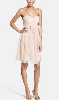 Blush bridesmaid dress by Jenny Yoo- love the dress in a different color!