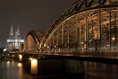 Hohenzollern Bridge and the Dome of Cologne