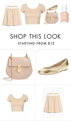 """Untitled #38"" by christie-may ❤ liked on Polyvore featuring Chloé, Elorie and Essie"