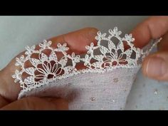 Diy Crafts - crowned,H& H& crowned needle lace models narrated construction - YouTub . - construction crowned H& lace models Crochet Edging Patterns, Crochet Lace Edging, Crochet Borders, Hand Embroidery Patterns, Irish Crochet, Diy Crochet, Crochet Designs, Crochet Doilies, Crochet Flowers
