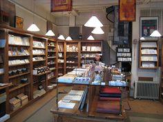 Melodies Graphiques, 10 Rue Pont Louis Philippe, Paris, France. Stationary shop.