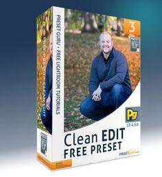 Free Lightroom Preset: Clean Edit