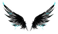 Ink wings tattoo by Gammatrap - icarus