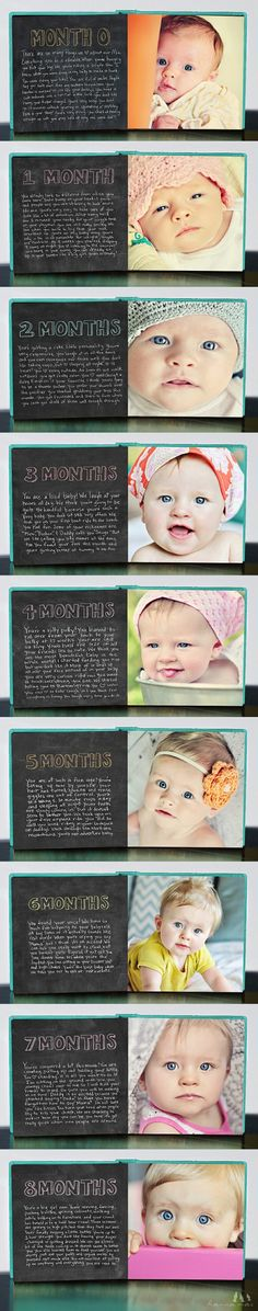 ideas for a baby book