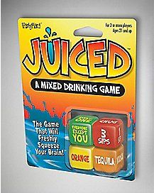 Party points to ME! I just found the Juiced Dice Drinking Game from Spencer's. Visit their mobile website to get this item and more like it. Fun Party Games, Adult Party Games, Adult Games, Ideas Party, Gift Ideas, Drunk Games, Drinking Games For Parties, 18th Birthday Party, Birthday Games