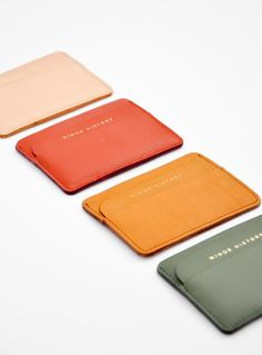 minor history card holders // new arrivals