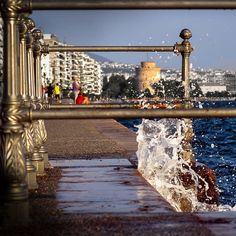 A glimpse of everyday life in Thessaloniki Thessaloniki, Macedonia, Marina Bay Sands, The Locals, Greece, Tower, Paintings, In This Moment, Building