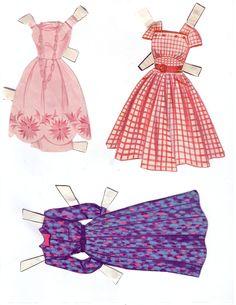 Hayley Mills - Summer Magic juego de muñeca de papel (1963) 012