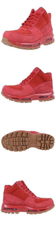 49ff47ddc0 Youth 158954: Kids Air Max Goadome Gym Red 311567-602 Gs Nike Acg Boots Grade  School Gum -> BUY IT NOW ONLY: $149 on eBay!