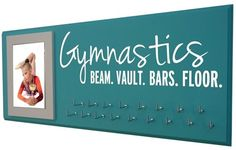 Gymnastics medals display - Gymnastics, Celebrate that achievement by displaying your hard-earned gymnastics medals on a stylish and totally customization Gymnastics Medal Display! A medal rack is a great way to inspire those future workouts!