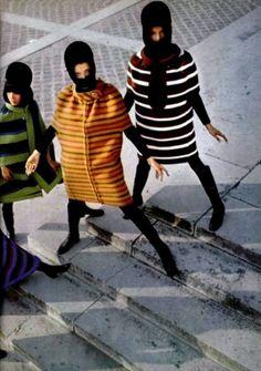 Pierre Cardin fashions, 1960s.