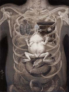 Santiago Caruso, X-Rays of a Rich Man