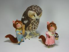 Needle Felting / Needle Felted Creations By Barby Anderson: April 2011