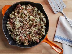Get Bacon-Rosemary-Red Bliss Hash Recipe from Cooking Channel