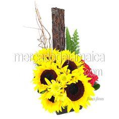 Arreglo Girasoles San Marino| Envia Flores