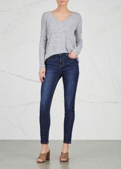 Rizzo dark blue skinny jeans