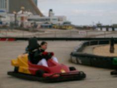 "People enjoying ""Go- Karts"" on Atlantic City Boardwalk - 3/17/13    Link@    http://jccolyer.tumblr.com/post/45600394315/people-enjoying-go-karts-on-atlantic-city#_=_"