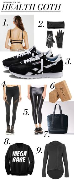 Gift Guide: For the Health Goth