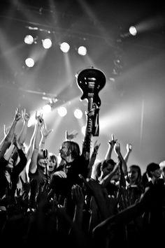 #guitar #public #rock