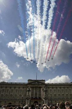 Fly Past over Buckingham Palace.