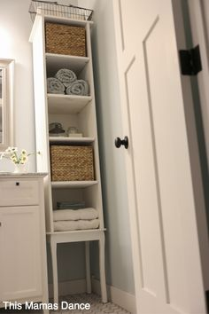 Bathroom Cabinets Tips Diy Cabinets, Tall Bathroom Storage, Cottage Cabinet, Tall Bathroom Storage Cabinet, Tall Cabinet Storage, Bathroom Linen Cabinet, Free Standing Cabinets, Custom Bathroom Cabinets, Bathroom Stand