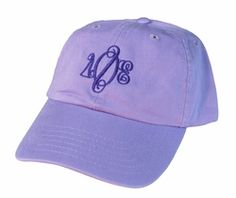 Delta Phi Epsilon Monogrammed Greek Hat SALE $19.95. - Greek Clothing and Merchandise - Greek Gear®