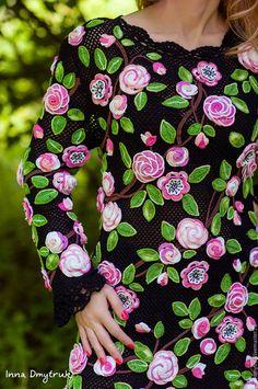 """Платья ручной работы. Платье """"Вечерняя роза"""". Инна Дмитрук (Dmytruk). Ярмарка Мастеров. Платье на заказ"""