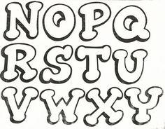1000+ ideas sobre Moldes De Letras Timoteo en Pinterest | Dibujos ... Hand Lettering Alphabet, Alphabet Stencils, Doodle Lettering, Graffiti Alphabet, Creative Lettering, Graffiti Font, Monogram Alphabet, Bubble Letters, Alphabet And Numbers