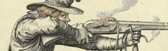 Matchlock Musket (Arquebus) - English Civil War -17th Century