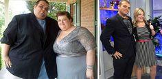 Casais que perderam muito peso juntos e ficaram irreconhecíveis
