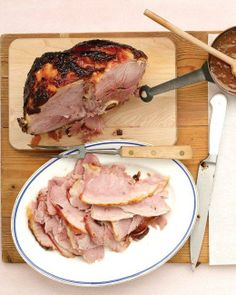Glazed Ham with Apricot-Mustard Sauce Recipe