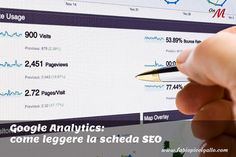 Come leggere la scheda Ottimizzazione per i motori di ricerca di Google Analytics