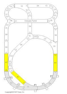 train table layout #modeltraintable