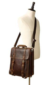 Vintage Leather Messenger Bag, Brown Leather Backpack, Leather Bags Handmade, Cow Leather, Leather Backpacks, Messenger Bag Backpack, Vintage Backpacks, Denim Bag, Leather Purses