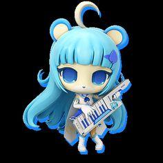 show by rock myumon tsukino - Google Search