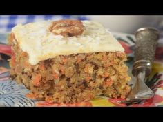 This Carrot Cake is moist and flavorful with grated carrots and is frosted with a delicious cream cheese frosting. With Demo Video Carrot Sheet Cake Recipe, Sheet Cake Recipes, The Joy Of Baking, Baked Carrots, Moist Cakes, Pastry Cake, Eat Dessert First, Healthy Baking, Coffee Cake