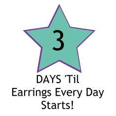Earrings Every Day Month - Kimberlie Kohler Designs Earring Tutorial, How To Make Earrings, Give It To Me, Feelings, Design