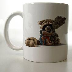 Chibi Rocket and Groot the Guardians of the Galaxy Mug Two Side 11 Oz Ceramic Mug http://www.amazon.com/dp/B00VFI20E0/ref=cm_sw_r_pi_dp_VSljvb1FATF0D